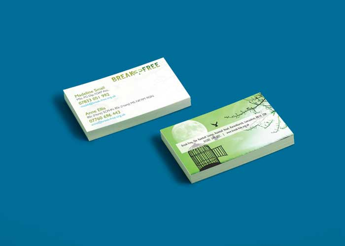 Hydra Marketing business cards design and print