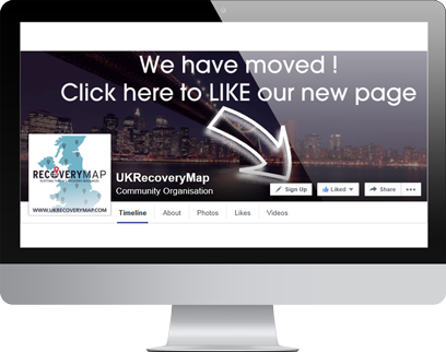 Recovery Map Facebook Page by Hydra Marketing