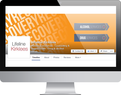 Lifeline Facebook Page by Hydra Marketing