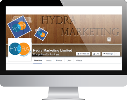 Hydra Facebook Page by Hydra Marketing