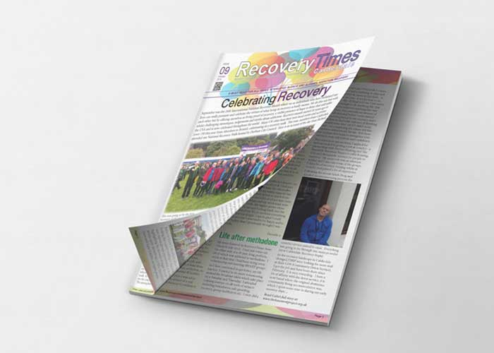 Hydra Marketing newsletter design and print