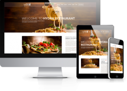 Restaurant Website Demo from Hydra Marketing, Guiseley, Otley, Halifax