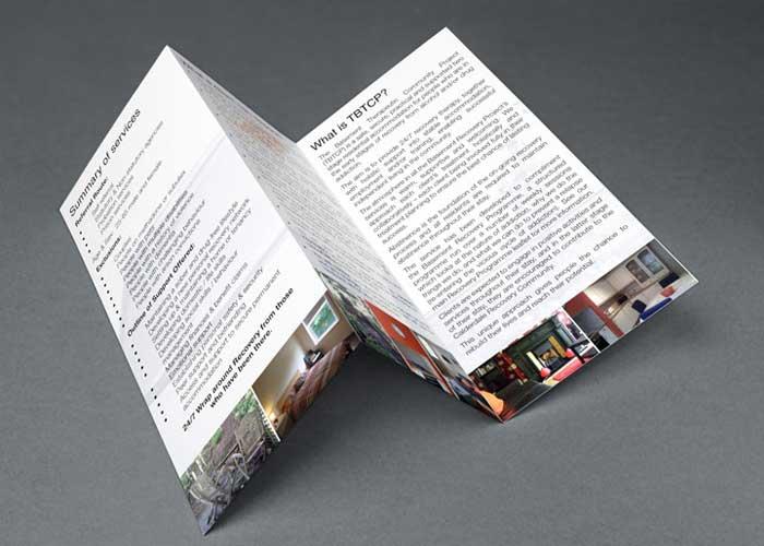 Hydra Marketing leaflet design