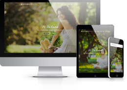 website template for health and wellbeing